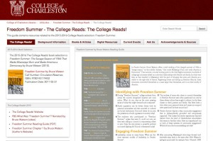 Freedom Summer Library Research Guide