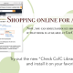 "Try the new ""Check CofC Libraries"" button"