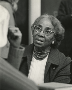Septima Clark, courtesy of the Avery Research Center