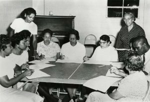 Septima P. Clark Teaching, courtesy of the Avery Research Center