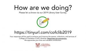 2019 Library User Survey