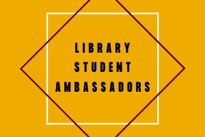 Library Student Ambassadors Logo