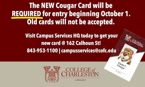 NEW Cougar Card REQUIRED beginning October 1