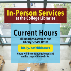 Current Library Hours Link