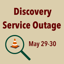 Discovery Service Outage May 29-30 Graphic