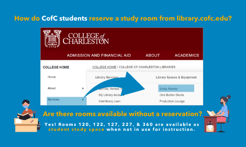 Study Room Reservation Graphic